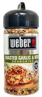 Koření Weber Roasted Garlic & Herb (156g)