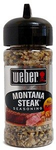 Koření Weber Montana Steak Seasoning (107g)