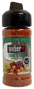 Koření Weber Thai Chili Seasoning (77g)