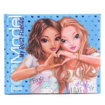 Top Model TOPModel Friendship Book Blue Paper Articles