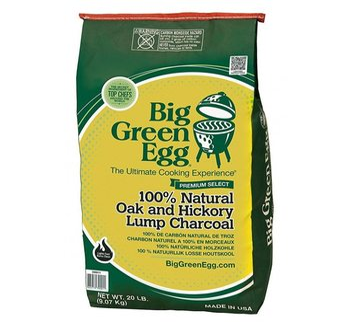 Dřevěné uhlí Premium Organic, 9 kg, Big Green Egg