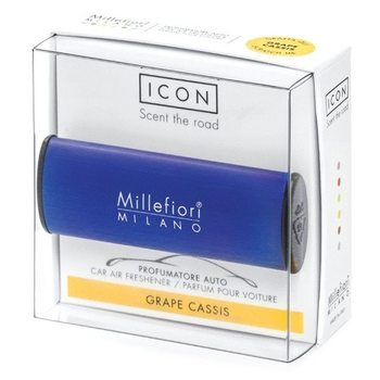 Millefiori Icon Vůně do auta Classic Grape Cassis tmavě modrá