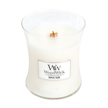 WoodWick White Teak 275 g