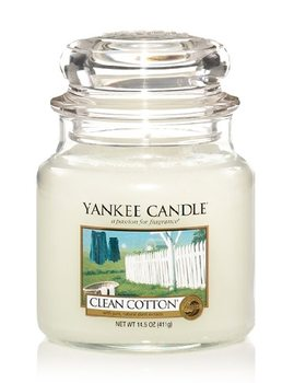 Yankee candle CLEAN COTTON 411g
