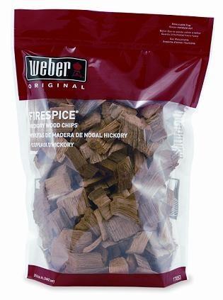 Udící lupínky - Hickory, 1500 g, Weber 17053