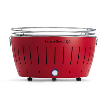 LotusGrill - XL Red + 1 kg uhlí + gelový podpalovač
