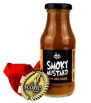 Smoky Mustard BBQ Sauce, 250ml