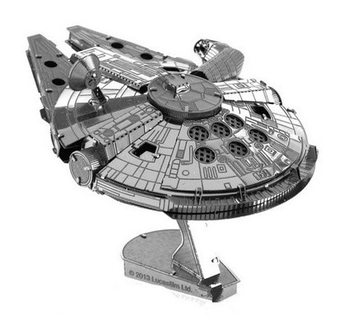 Star Wars 3D puzzle Metal Star Wars Milenium Falcon