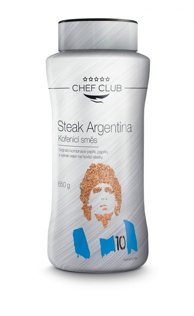 Kořenící směs Steak Argentina, 650 g, Chef Club