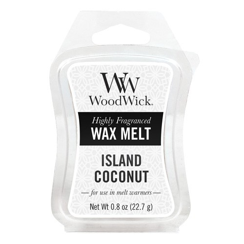 WoodWick vosk Island Coconut 22g