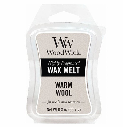 WoodWick vosk Warm Wool 22 g
