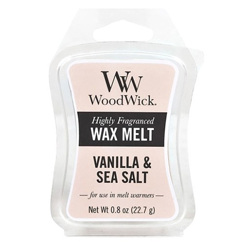 WoodWick vosk Vanilla & Sea Salt 22 g
