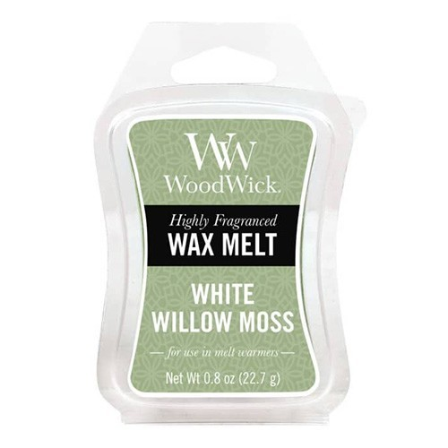 WoodWick vosk White Willow Moss 22g
