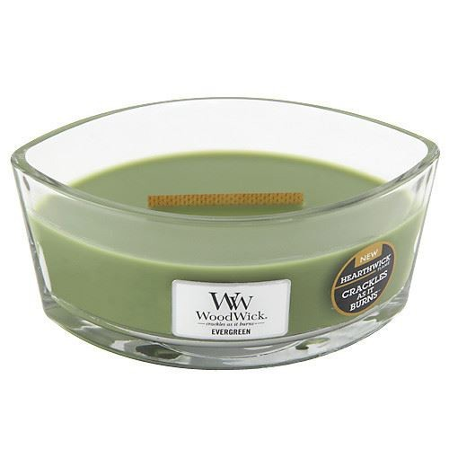 WoodWick loď Evergreen 453.6 g