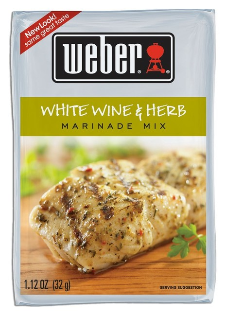 Weber Marinada White Wine & Herb (32g)