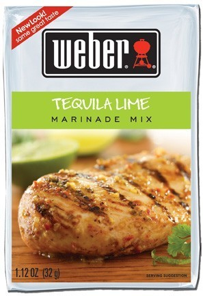 Weber Marinada Tequila Lime (32g)