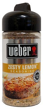 Weber Koření Zesty Lemon Seasoning 142 g