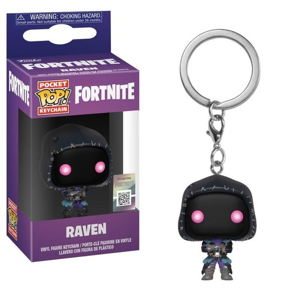 Funko POP Keychain: Fortnite S2 - Raven