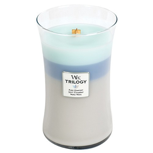 WoodWick Trilogy Woven Comforts 609.5g