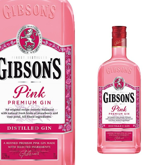 Gibson's Pink Gin 37,5% 0,7 l
