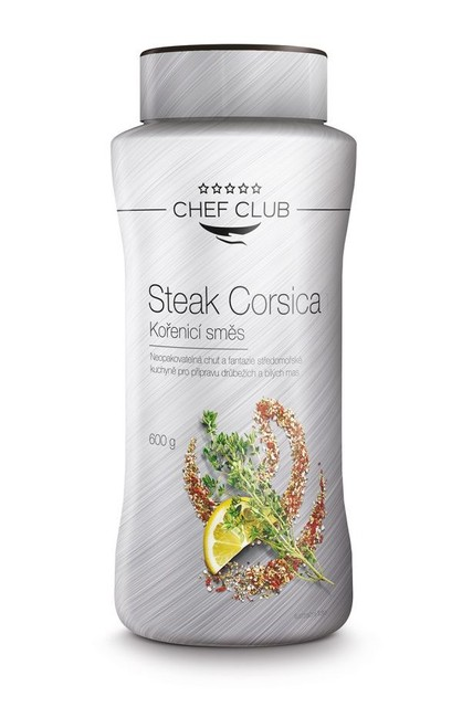 Kořenící směs Steak Corsica, 600 g, Chef Club