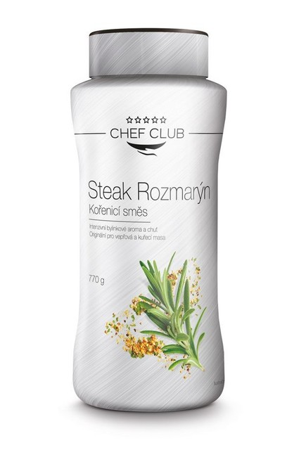 Chef Club Koření STEAK ROZMARÝN 770 g