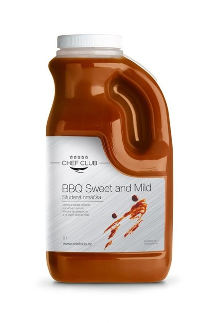Chef Club Omáčka BBQ SWEET AND MILD 2 l