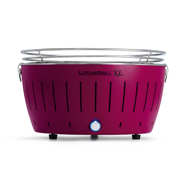 LotusGrill - XL Purple + 1 kg uhlí + gelový podpalovač