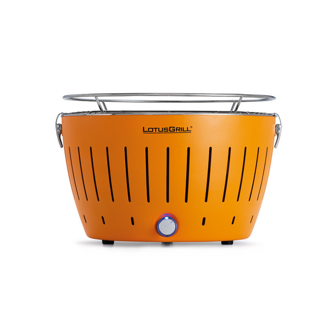 LotusGrill - Orange + 1 kg uhlí + gelový podpalovač